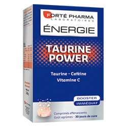 ENERGIE TAURINE POWER 30 COMPRIMES