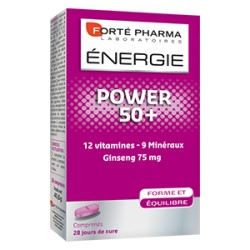 ENERGIE POWER 50 28 COMPRIMES
