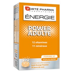 ENERGIE POWER ADULTE EFFERVESCENT 28 COMPRIMES