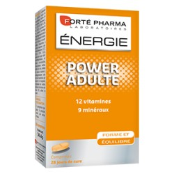 ENERGIE POWER ADULTE 28 COMPRIMES